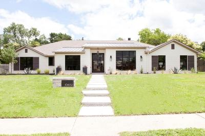 Preston Hollow, Preston Hollow Rev Single Family Home For Sale: 10652 Les Jardins Drive