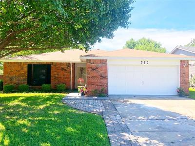 Mesquite Single Family Home For Sale: 712 Coolwood Lane