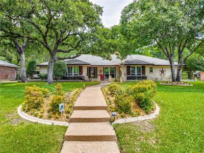 Euless Single Family Home Active Option Contract: 1207 Cliffwood Road
