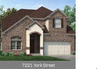 North Richland Hills Single Family Home For Sale: 7221 York Street