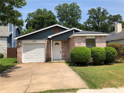 Irving Single Family Home For Sale: 1520 Hux Court