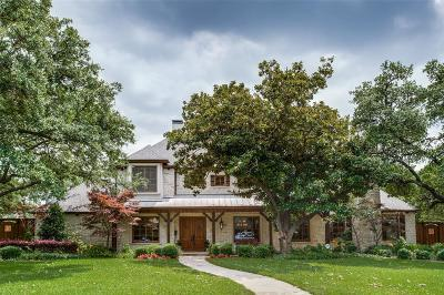 Dallas Single Family Home For Sale: 4440 Cedarbrush Drive