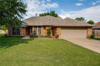North Richland Hills Single Family Home Active Option Contract: 7104 Nicole Court