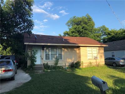 Denton Single Family Home For Sale: 626 Frame Street