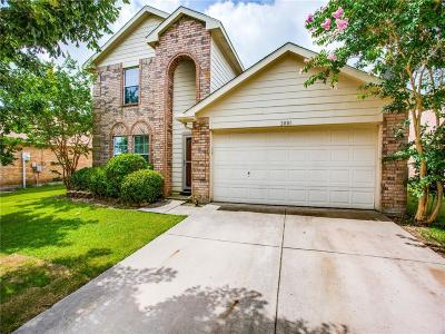 Royse City Single Family Home Active Option Contract: 2801 Spencer Circle