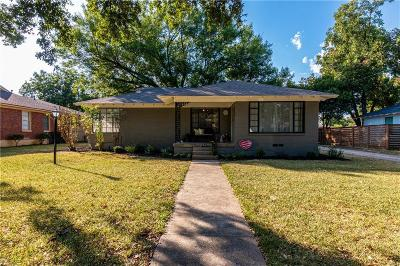 Dallas Single Family Home For Sale: 2423 Wynnewood Drive