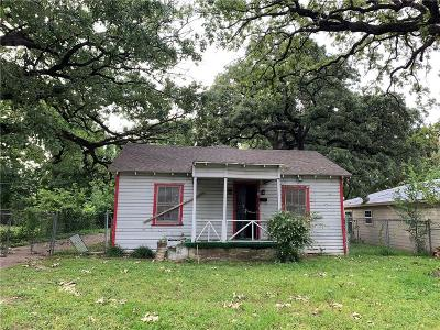 Dallas Single Family Home For Sale: 3712 Cauthorn Drive