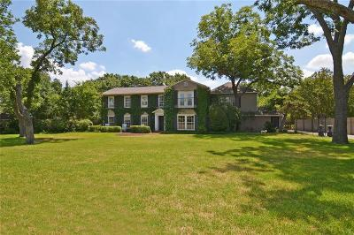 Single Family Home For Sale: 4522 Walnut Hill Lane