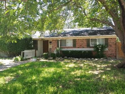 Farmers Branch Single Family Home For Sale: 2906 Fyke Road