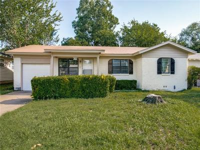 Hurst Single Family Home Active Option Contract: 744 Ruth Lane