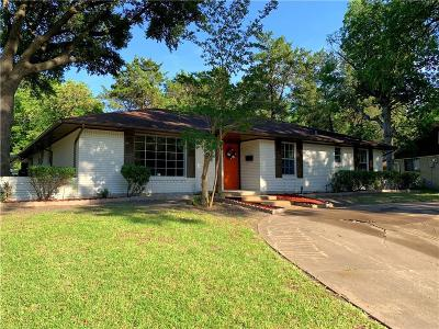 Dallas Single Family Home For Sale: 6006 Hunters View Lane