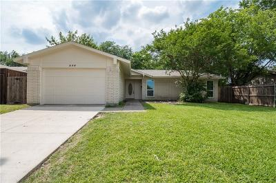 Garland Single Family Home For Sale: 505 Oxford Park