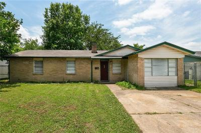 Mesquite Single Family Home For Sale: 1526 Carson Drive