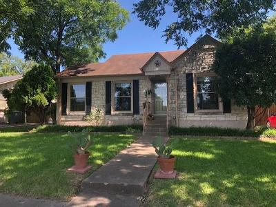 Dallas Single Family Home For Sale: 1416 Elmwood Boulevard