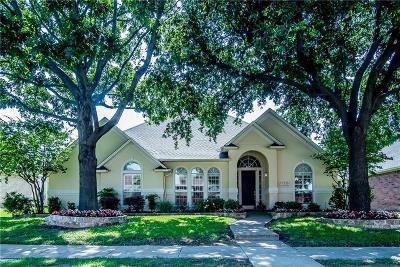 Denton County Single Family Home Active Option Contract: 18316 Summerfield Drive
