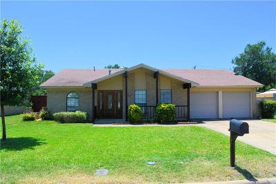 Hurst Single Family Home Active Contingent: 1913 Cimarron Trail