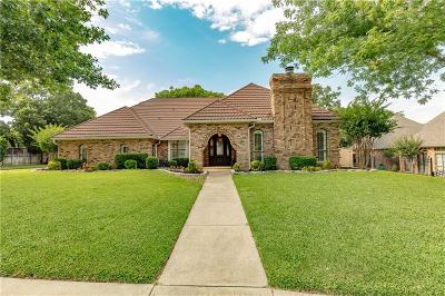 Tarrant County Single Family Home For Sale: 1410 Plantation Drive N