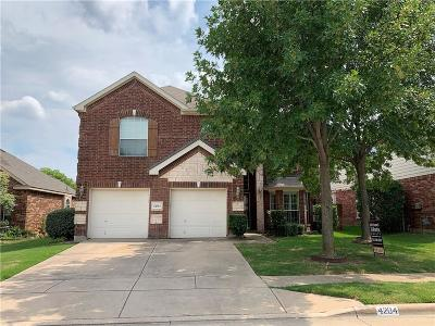 Single Family Home For Sale: 4204 Snapdragon Drive