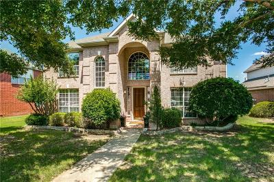 Coppell Single Family Home Active Option Contract: 514 Westminster Way