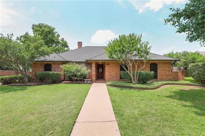 Carrollton Single Family Home Active Option Contract: 1740 Big Canyon Trail
