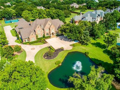 Colleyville TX Single Family Home For Sale: $2,850,000