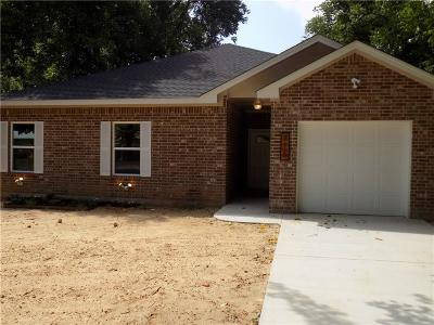 Cleburne Single Family Home Active Option Contract: 715 Turner Street