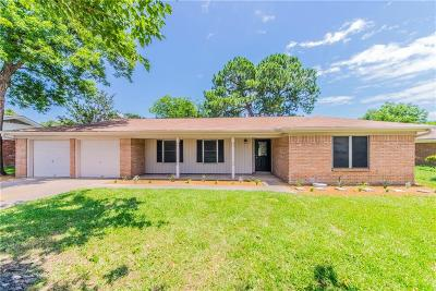 Hurst Single Family Home Active Option Contract: 1328 Valentine Street