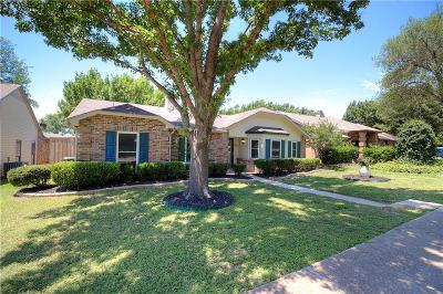 The Colony Single Family Home Active Contingent: 4505 Keys Drive