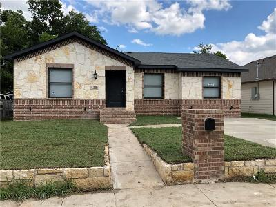 Dallas Single Family Home For Sale: 2810 Fordham Road