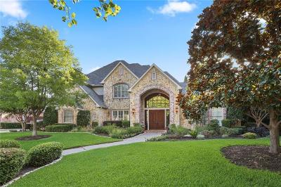 Coppell Single Family Home For Sale: 717 Stratford Lane