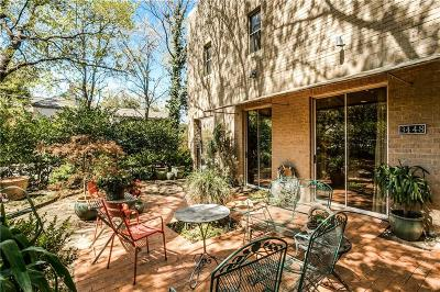 Highland Park, University Park Condo For Sale: 3448 Rankin Street