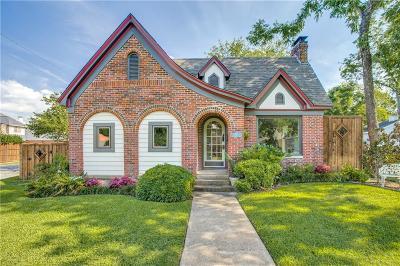 Dallas Single Family Home For Sale: 802 Thomasson Drive