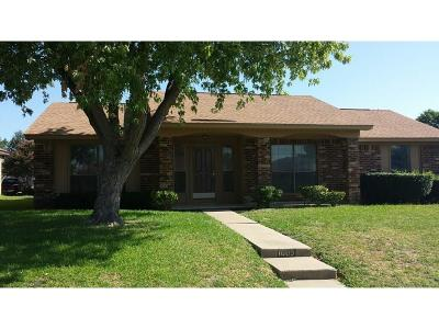 Mesquite Single Family Home For Sale: 1005 Dunning Drive