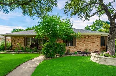 Dallas Single Family Home For Sale: 8129 Woodhue Road