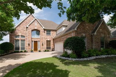 Keller Single Family Home Active Option Contract: 801 Stillwater Court