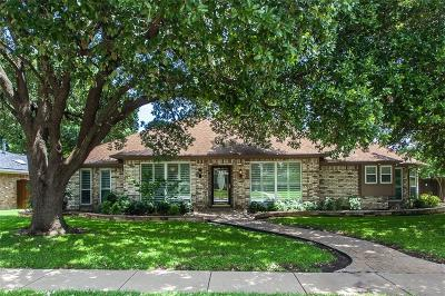 Richardson Single Family Home Active Option Contract: 905 E Berkeley Drive