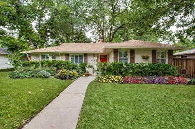 Dallas County Single Family Home For Sale: 6715 Braeburn Drive
