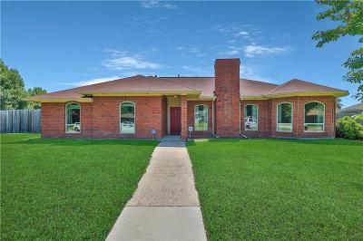 Sachse Single Family Home For Sale: 5330 Spring Creek Drive