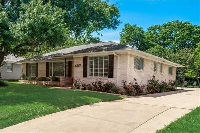 Dallas Single Family Home For Sale: 6217 Lovers Lane E