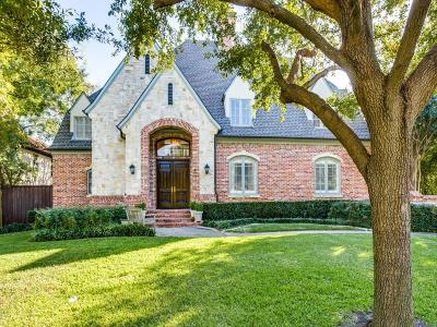 Preston Hollow Single Family Home For Sale: 6730 Norway Road