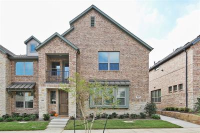 Flower Mound Townhouse For Sale: 1343 Casselberry Drive