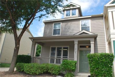 Fort Worth Townhouse For Sale: 10721 Traymore Drive