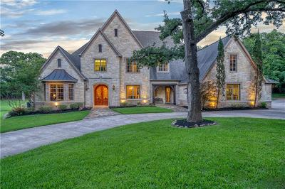 Colleyville Single Family Home Active Option Contract: 2001 Renfro Road