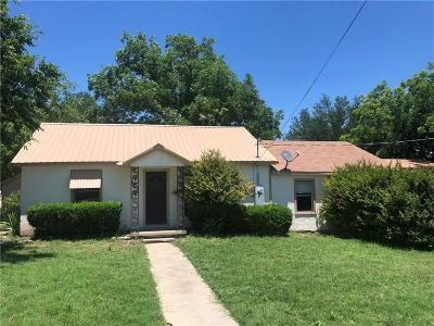 Hico Single Family Home For Sale: 615 Kirk