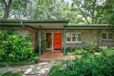 Fort Worth Single Family Home For Sale: 3824 Glenwood Drive