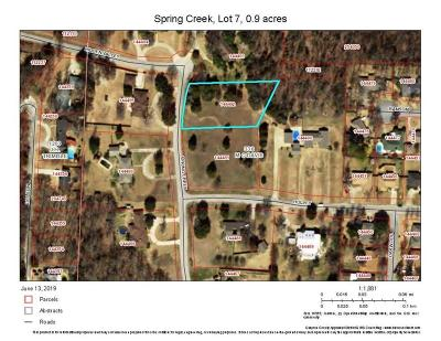 Grayson County Residential Lots & Land Active Option Contract: 0000 Spring Creek Drive