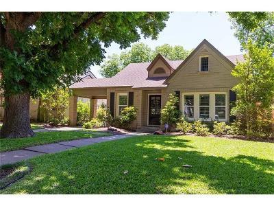Dallas Single Family Home For Sale: 5550 Ridgedale Avenue