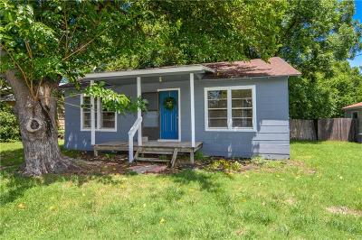 Stephenville Single Family Home Active Option Contract: 825 W Shirley Street