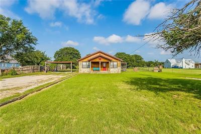 Azle Single Family Home Active Option Contract: 13515 Liberty School Road