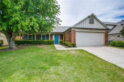 Grapevine Single Family Home Active Option Contract: 713 Berkshire Lane